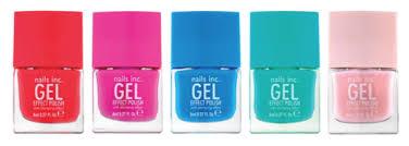spotlight nails inc spring summer 2014 gel effect polishes