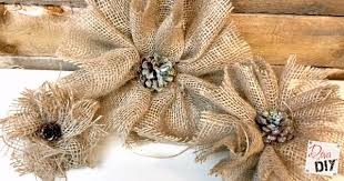burlap flowers how to make burlap flowers