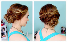 Easy Updo Hairstyles For Thin Hair by Medium Hairstyles Updo Easy Updo Hairstyles For Thin Hair Bohcam