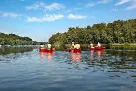 Jugendherberge Bad Oldesloe Lauenburgische Seen Trave Kanu Fahren Am Und Auf Dem Wasser