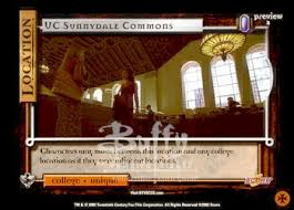 sunnydale class of 99 buffy the vire slayer ccg cards