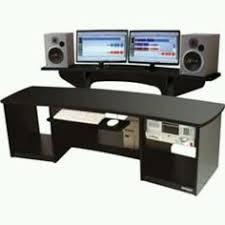 home studio desk design best kk audio a edit desk black w lite