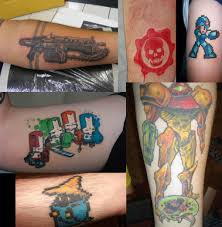 Designs For Boys by Inspirational Video Game Geek Tattoo Designs For Boys Picsmine