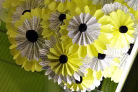 paper flower centerpieces evntiv evntiv