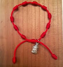 string knots bracelet images Red string bracelet buddha head bracelet yoga bracelet jpg