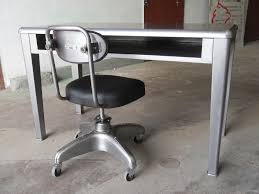 Small Steel Desk Compression Studio Small Vintage Desk Set