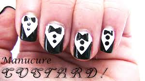 manucure costard tuxedo with my best friend youtube