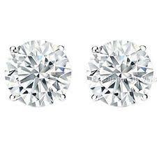 moissanite earrings cartier white gold earrings ebay