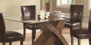 table laudable wooden table bases for glass tops excellent wood