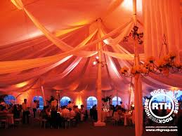 wedding drapery lighting drapery rock the house