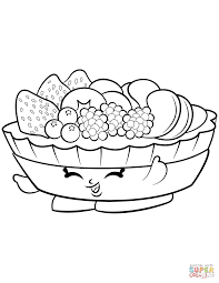fifi fruit tart shopkin coloring page free printable coloring pages