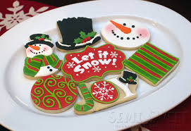 white chocolate christmas cookies semi sweet designs