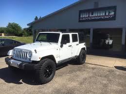 badass white jeep wrangler white jeep wrangler sahara by no limits motorsport in plainwell mi