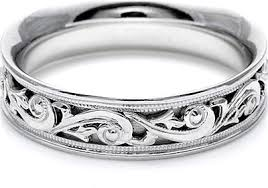 tacori wedding bands tacori mens wedding band with engraved scroll work 6 0mm ht2391