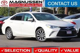 toyota san jose used cars used 2017 toyota camry for sale in san jose ca edmunds