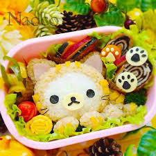 cuisine bento japanese food cuisine cat themed bento made with