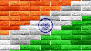 Indian Flag Standard Size Indian Flag On Wall Wide Hd Wallpapers Pixelstalk Net
