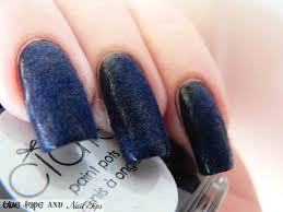 blue tape and nail tips ciate velvet manicure in blue suede