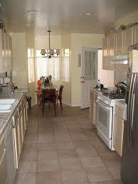 Narrow Kitchen Islands by Recycled Countertops Long Narrow Kitchen Island Lighting Flooring