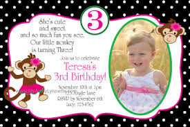 1 year old birthday party invitations