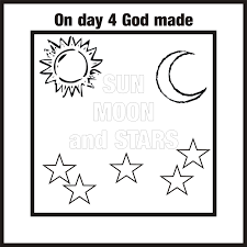 creation coloring pages printable coloring pages