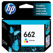 Preferidos Cartucho HP 662 Tricolor Original (CZ104AB) Para HP DeskJet 2516  #KE11