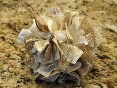 glitter burlap ornament products
