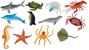 set of 12 sea creatures amazon co uk toys u0026 games