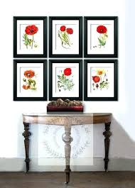 Poppy Home Decor Poppy Home Decor Poppy Field Canvas Print A Liked On Featuring