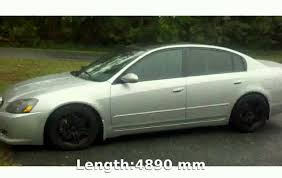 nissan altima 2005 on rims 2005 nissan altima 3 5 se r details and specs youtube