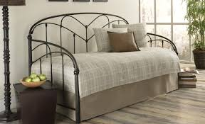 daybed rebecca metal daybed and trundle black walmart regarding