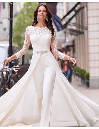 wedding dress jumpsuit ronald joyce jumpsuits