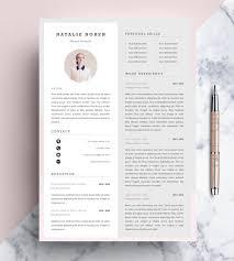 resume template editable professional resume template cv template editable in ms word and