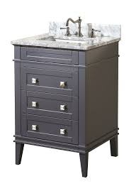 kitchen bath collection kbc l24gycarr eleanor bathroom vanity with