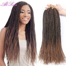 twisted hair for chrochet 2018 3 packs 30 strands kanekalon crochet twist hair black