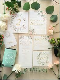 custom wedding invitations gold greenery florals wedding invitation suites custom