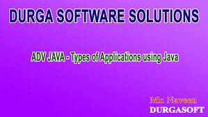 adv java types of applications using java youtube