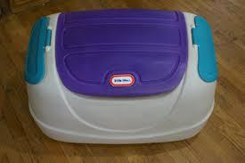 Little Tikes Storage Little Tikes Child U0027s Toy Box Chest White Purple Green What U0027s It