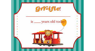 daniel tiger birthday party supplies printables pbs parents pbs