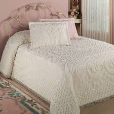 Twin Matelasse Coverlet Bedroom Matelasse Bedspread Old Fashioned Chenille Bedspreads