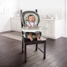 High Chair That Sits On Chair Trio 3 In 1 Wood High Chair Tristan