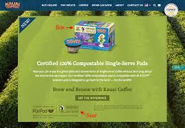 kauai u0027s u0027100 compostable u0027 coffee pods truth in advertising
