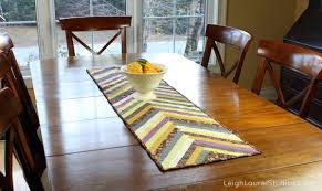 Fall Table Runners by Herringbone Table Runner Karin Jordan Studio