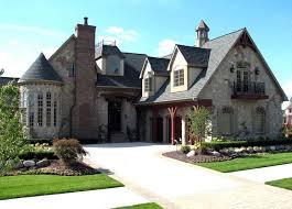 tudor house european french country tudor house plan 42820