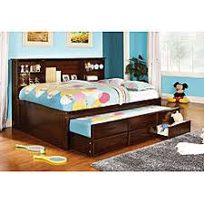 kids captain bed full size trundle kids bed