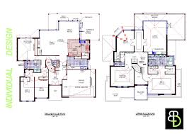 Home Blueprint Design Baby Nursery Blueprint Of A Two Story House Storey House Plans