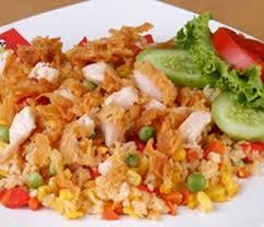 cara membuat nasi goreng untuk satu porsi resep masakan nasi goreng ayam suwir buku resep masakan