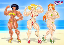 totally spies mission beach celso33 deviantart