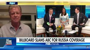 Abc Tv Kitchen Cabinet Trump Supporter Buys Billboard Bashing Abc News For Russia