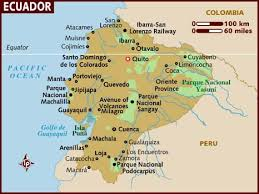 map usa lonely planet map of ecuador